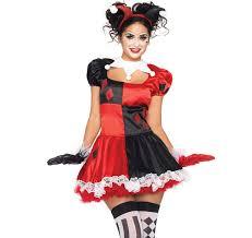 harlequin clown costume n4520