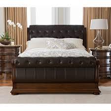 monticello bedroom set monticello 6 piece queen upholstered sleigh bedroom set pecan