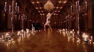 Ballroom Chandelier Ballroom Ballet Staging Switzerland Hd Stock 835 642