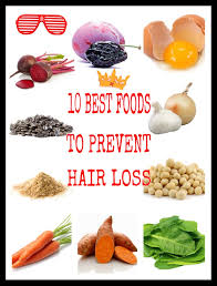 10 best foods to prevent hair loss youtube
