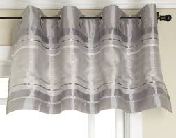 amazon com stylemaster fiesta faux silk grommet valance with