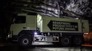 volvo truck prices in australia self driving volvo fmx truck heads underground