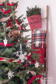 snowflake christmas tree postcards from the ridge