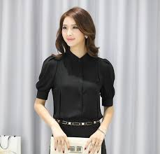Black Blouses For Work Womens Black Blouses For Work Photo Album Online Get Cheap Black