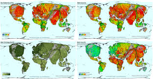 Climate Map Of The World global spaces of food production views of the world