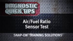 nissan altima 2005 code p1273 air fuel ratio sensor test diagnostic quick tips snap on