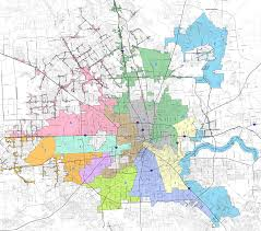 houston map districts district participation mobilityhouston