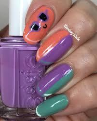 ehmkay nails target popsicle nail art with essie polish