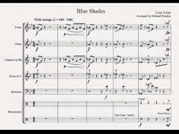 Blue Shades Blue Shades For Woodwind Quintet Drums Youtube