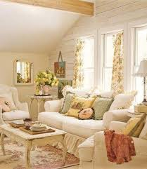 yellow shabby chic living room living room ideas
