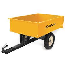 Home Depot Cart by Cub Cadet 12 Cu Ft Steel Dump Cart 19a40036100 The Home Depot