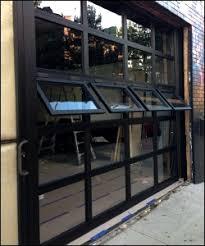 Overhead Door Windows Garage Door With Crank Out Windows Window Options For Garage Doors