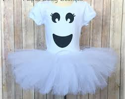 Ghost Halloween Costume Ghost Tutu Costume Etsy