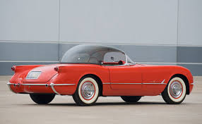 rarest corvette 1955 corvette bubbletop roadster to be auctioned by rm in