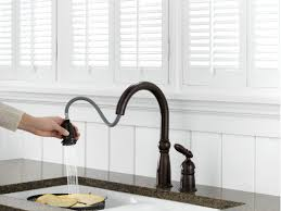 delta kitchen faucet models faucet 955 rb dst in venetian bronze by delta