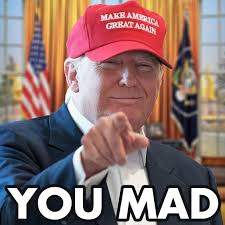 Mad At You Meme - you mad u mad know your meme