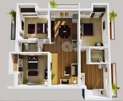 Download Home Plan Design 3 Bhk
