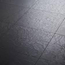 Stone Tile Effect Laminate Flooring Exquisa Slate Black Laminate Laminate Carpetright