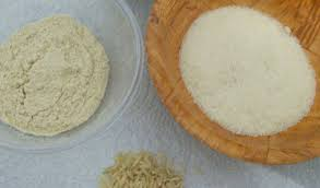 poudre de riz cuisine riz complet cru 1 création de la poudre de riz pour un gommage