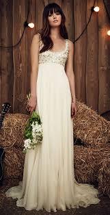high waist wedding dress 31 flattering scoop neckline wedding dresses weddingomania