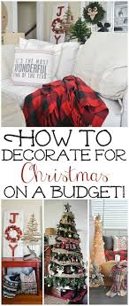 how to frugally quickly decorate for decorating