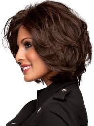 short hair with length at the nape of the neck short layered haircuts for wavy hair