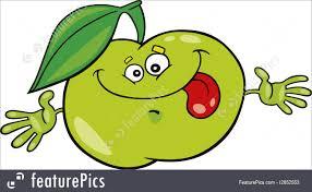 food cartoon green apple stock illustration i2852553 at featurepics