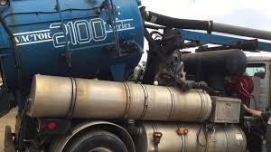 vactor 2100 vacuum truck sewer jet rodder hydro excavation youtube