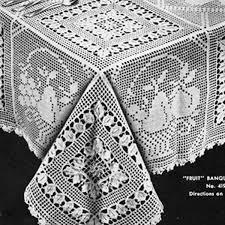 Crochet Table Cloth 44 Best Crochet Tablecloths Images On Pinterest Crochet