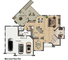 Color Floor Plan Two Story Floor Plans Over 3 000 Sq Ft Plan 220 Tjb Homes