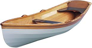 wooden row boat kit the wineglass wherry