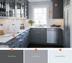kitchen color schemes with gray cabinets 20 enticing kitchen color schemes shutterfly
