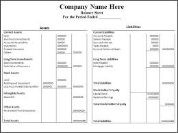 Small Business Balance Sheet Template Balance Sheet Template Excel For Small Business Calendar