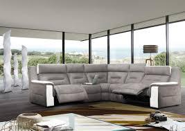 canape d angle bicolore acheter votre canapé d angle bicolore formes arrondies chez simeuble