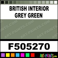 british interior grey green model metal paints and metallic paints