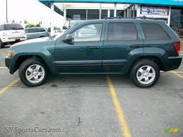 2005 jeep grand cherokee laredo 4x4 in deep beryl green pearl