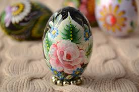 painted wooden easter eggs madeheart handmade carved wooden easter egg decorated using one
