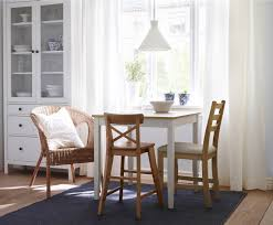 Kitchen Dinette Sets Ikea by Lerhamn Table Light Antique Stain White Stain White Stain