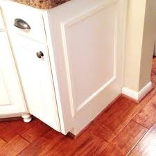 add trim to kitchen cabinet doors adding cabinets shaker inset