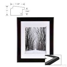 photo albums 8x10 chelsea dbl matted black wood frame 11x14 8x10 from artcare by