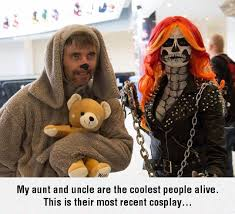 Wilfred Meme - the coolest cosplay couple the humorous