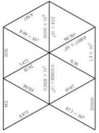 engaging math tarsia puzzle multiplying and dividing by powers