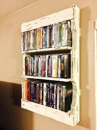 wall shelves ideas dvd shelf ideas photo 1 of 7 best shelves on movie storage wall for