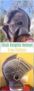crochet pattern knight helmet free crochet halloween hat free patterns instructions