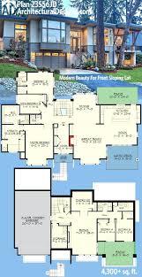 modern open floor plans house glass plansfree houses plan of