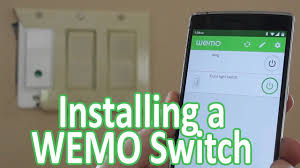wemo light switch 3 gang installing a wemo light switch youtube
