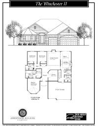 jamestowne building company the winchester ii u2013 2 200 sq ft ranch