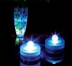submersible led lights wholesale 12pcs wedding table centerpieces lighting wholesale waterproof mini