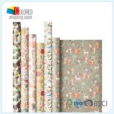 buy wrapping paper custom printed types of gift wrapping paper roll manufacturer low