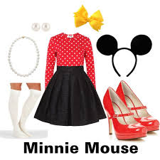 Minnie Mouse Halloween Costumes Adults 165 Halloween Costumes Images Halloween Ideas